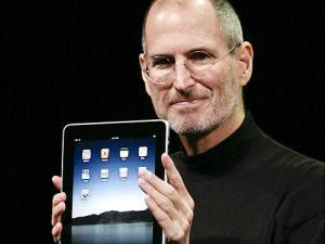 Steve Jobs cambio el mundo iPad